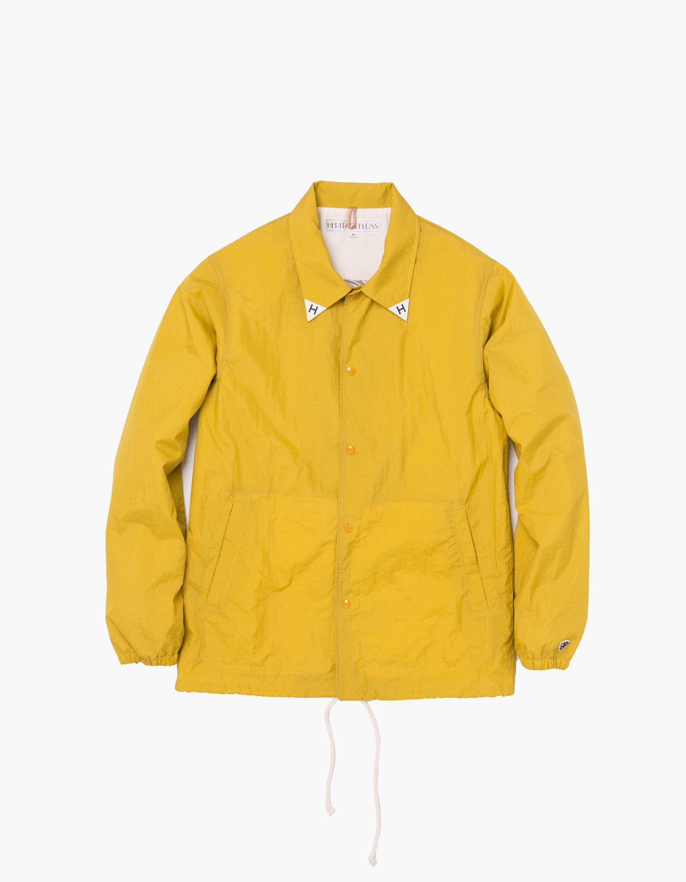 YACHT CLUB COACH JACKET / MUSTARD