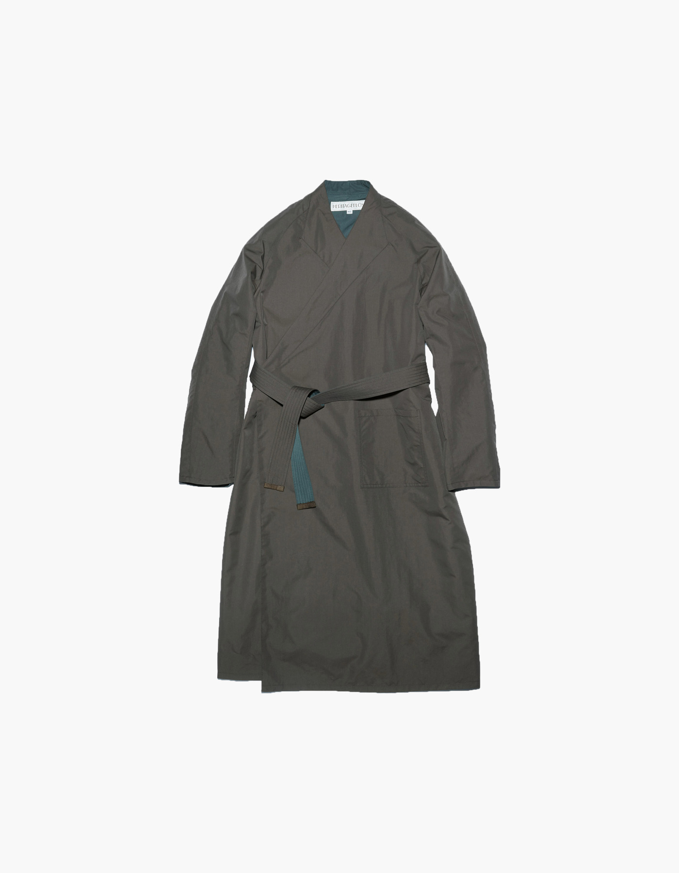 ROBE COAT / BROWN