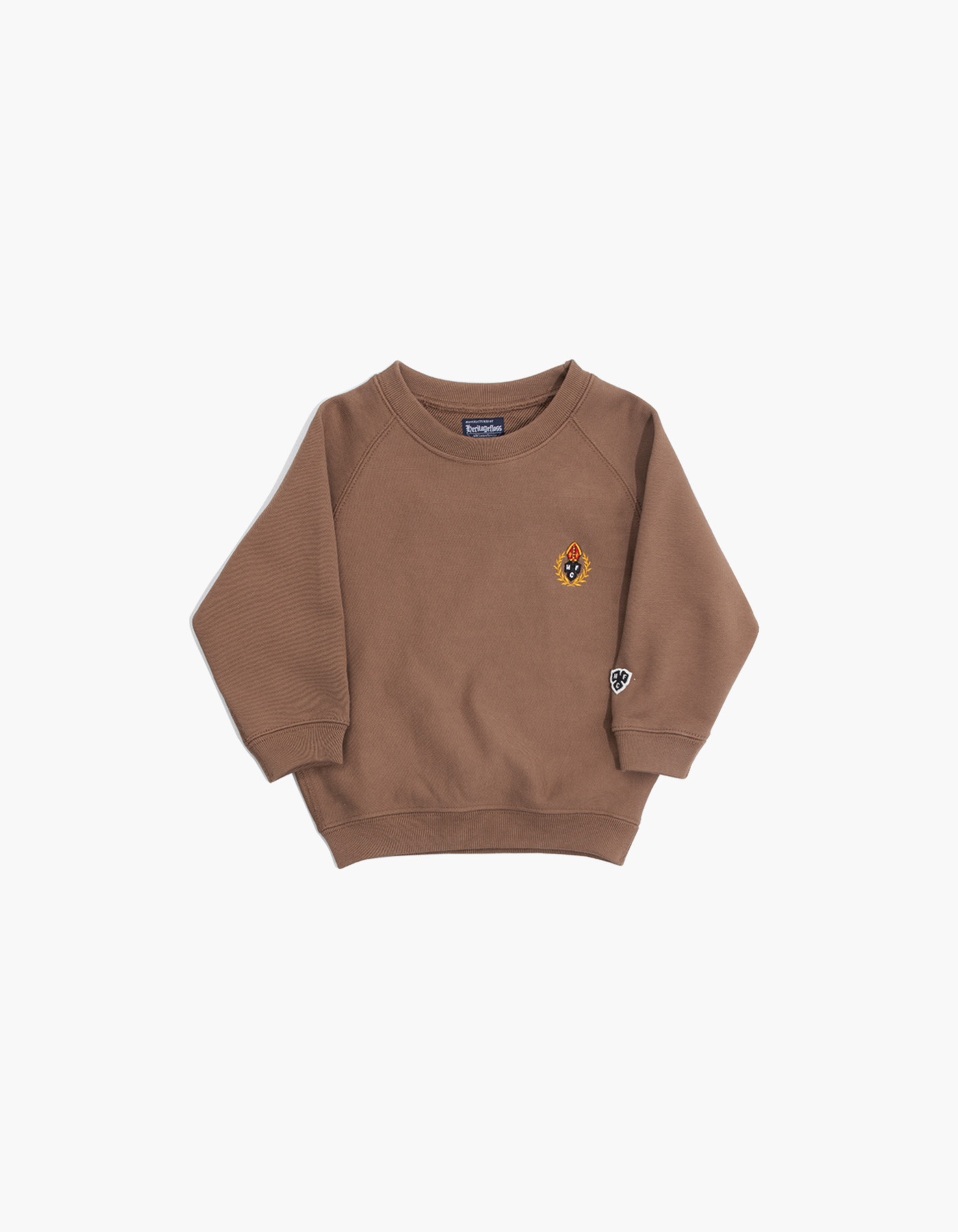 231 KIDS HFC CREWNECK / BROWN