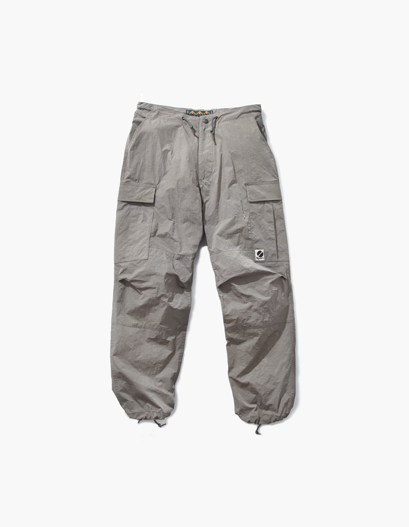 SALT NYLON CARGO PANTS / GREY