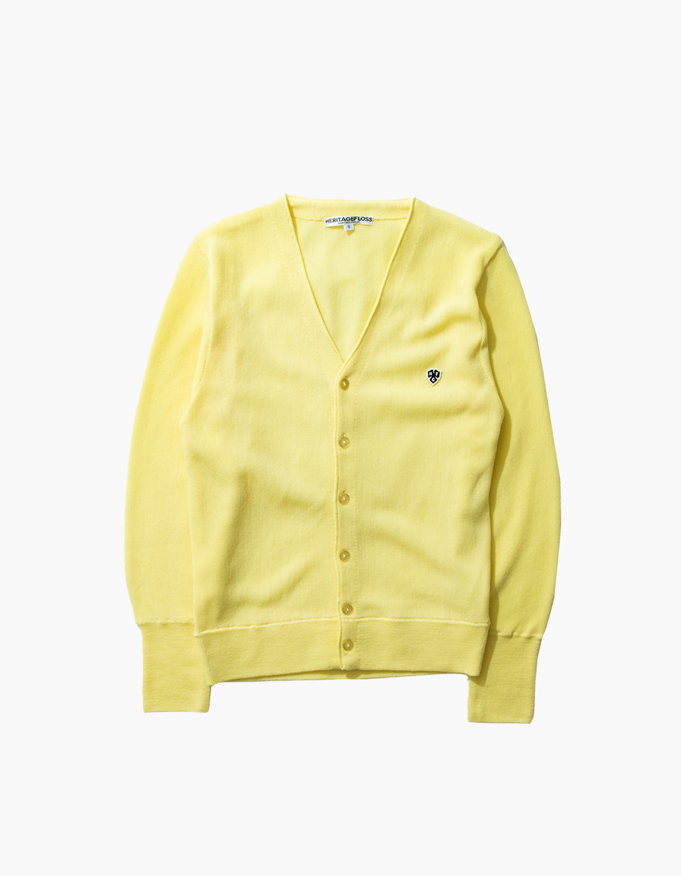 HFC CLOVER CARDIGAN / LIGHT YELLOW