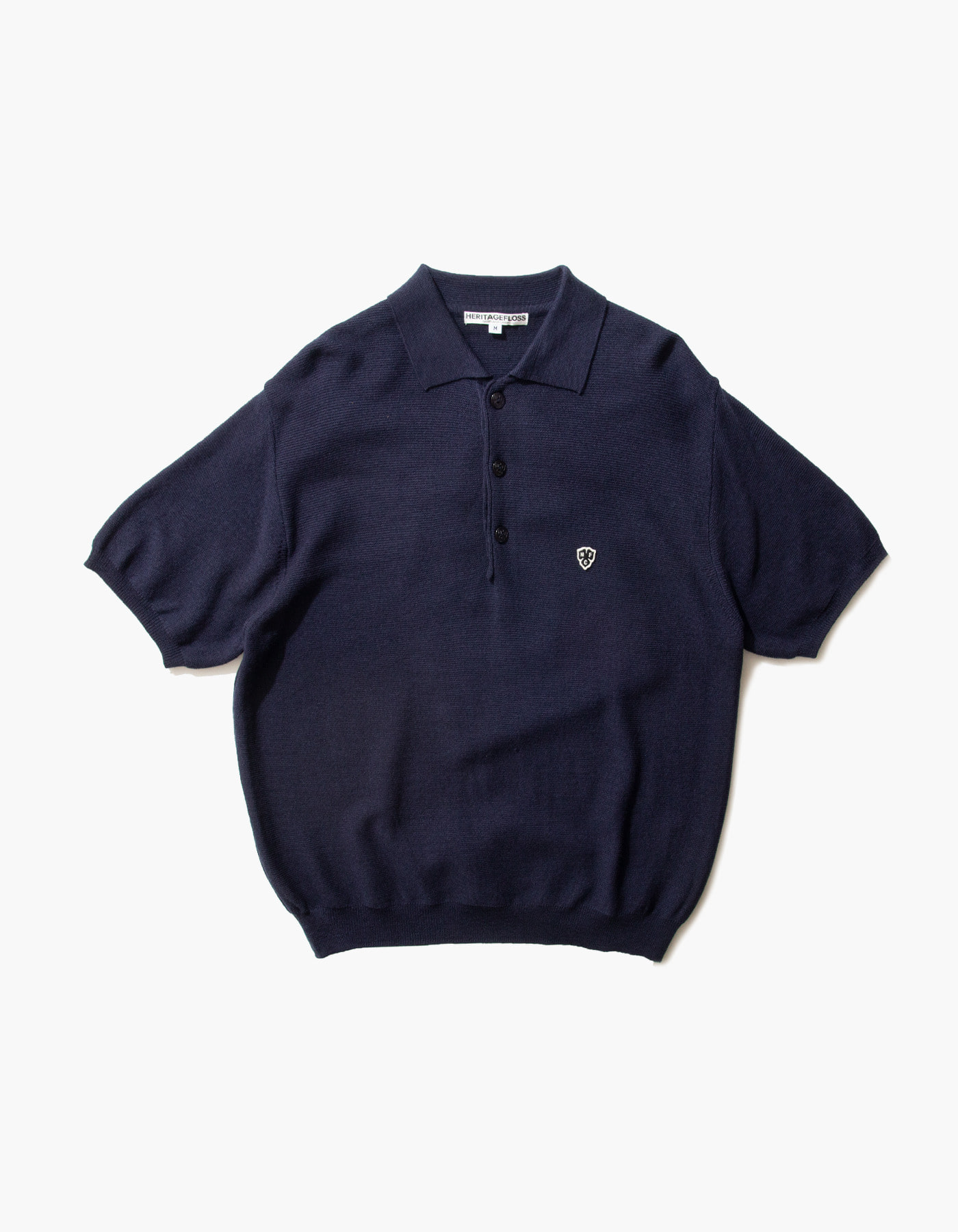 HFC CLOVER POLO SHIRTS / NAVY