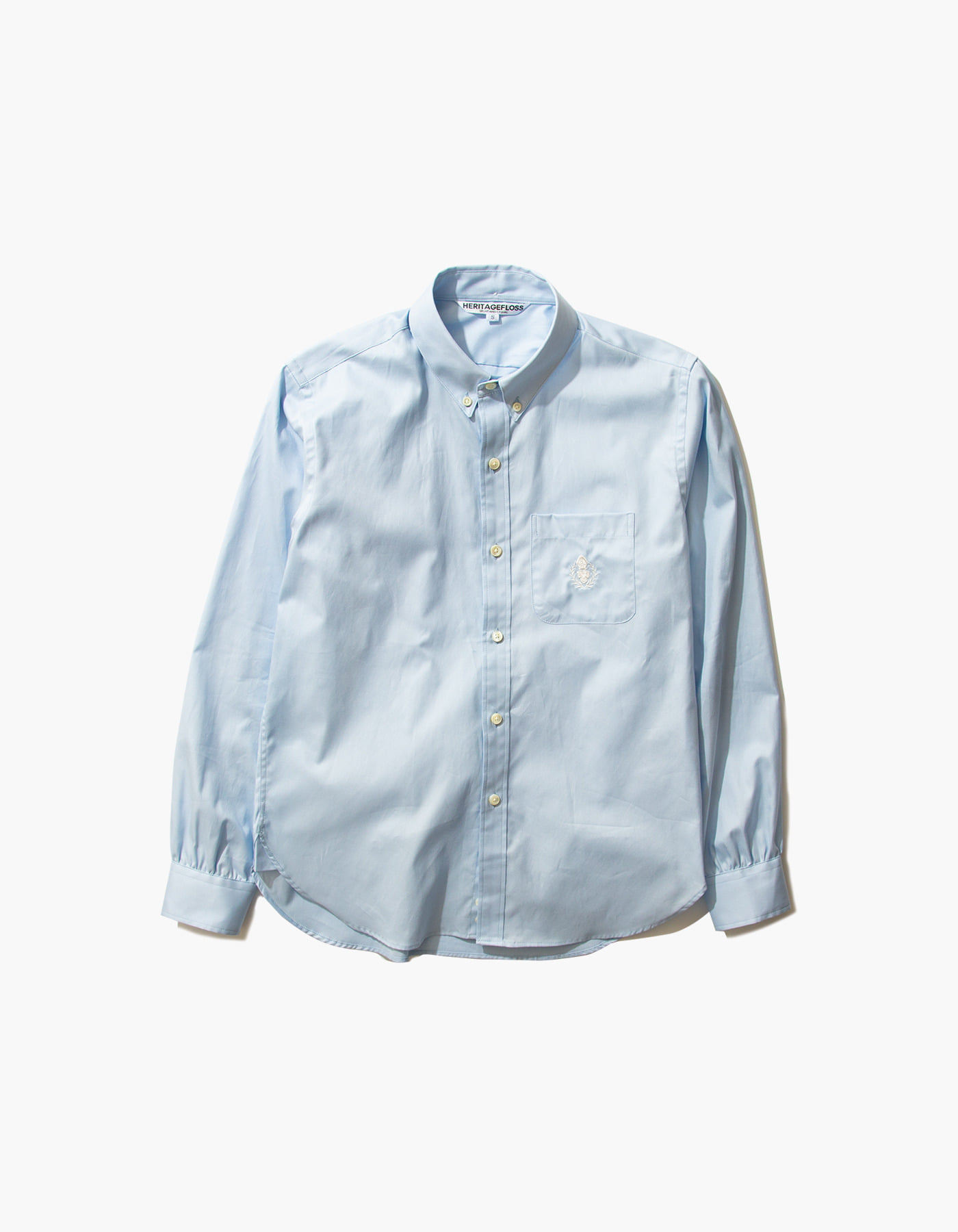 HFC COMBED OXFORD SHIRTS / SKY BLUE