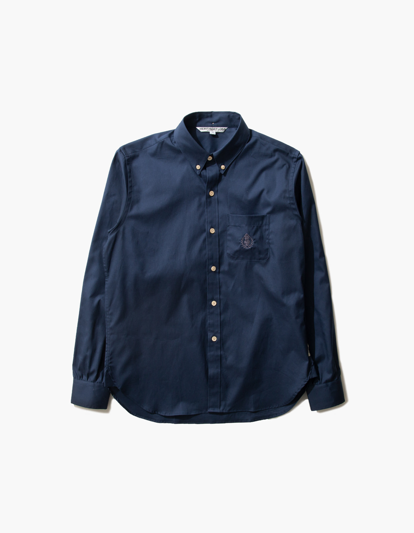 HFC COMBED OXFORD SHIRTS / NAVY