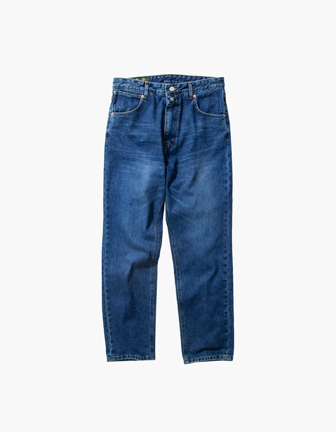 STONE WASHED BAGGY PANTS / INDIGO
