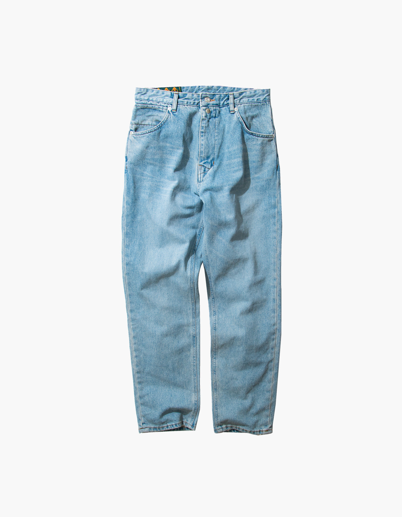 STONE WASHED BAGGY PANTS / LIGHT INDIGO