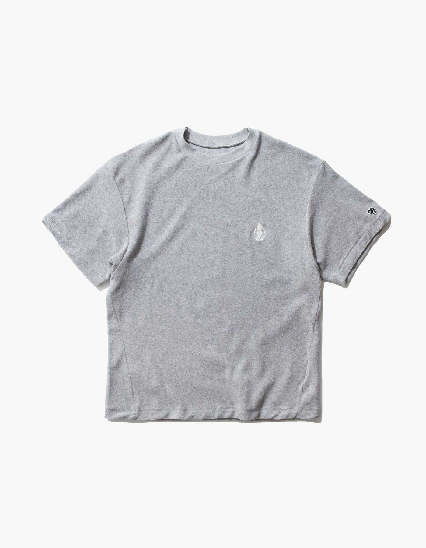 HFC CREST TOWEL T-SHIRTS / M.GREY(5%)