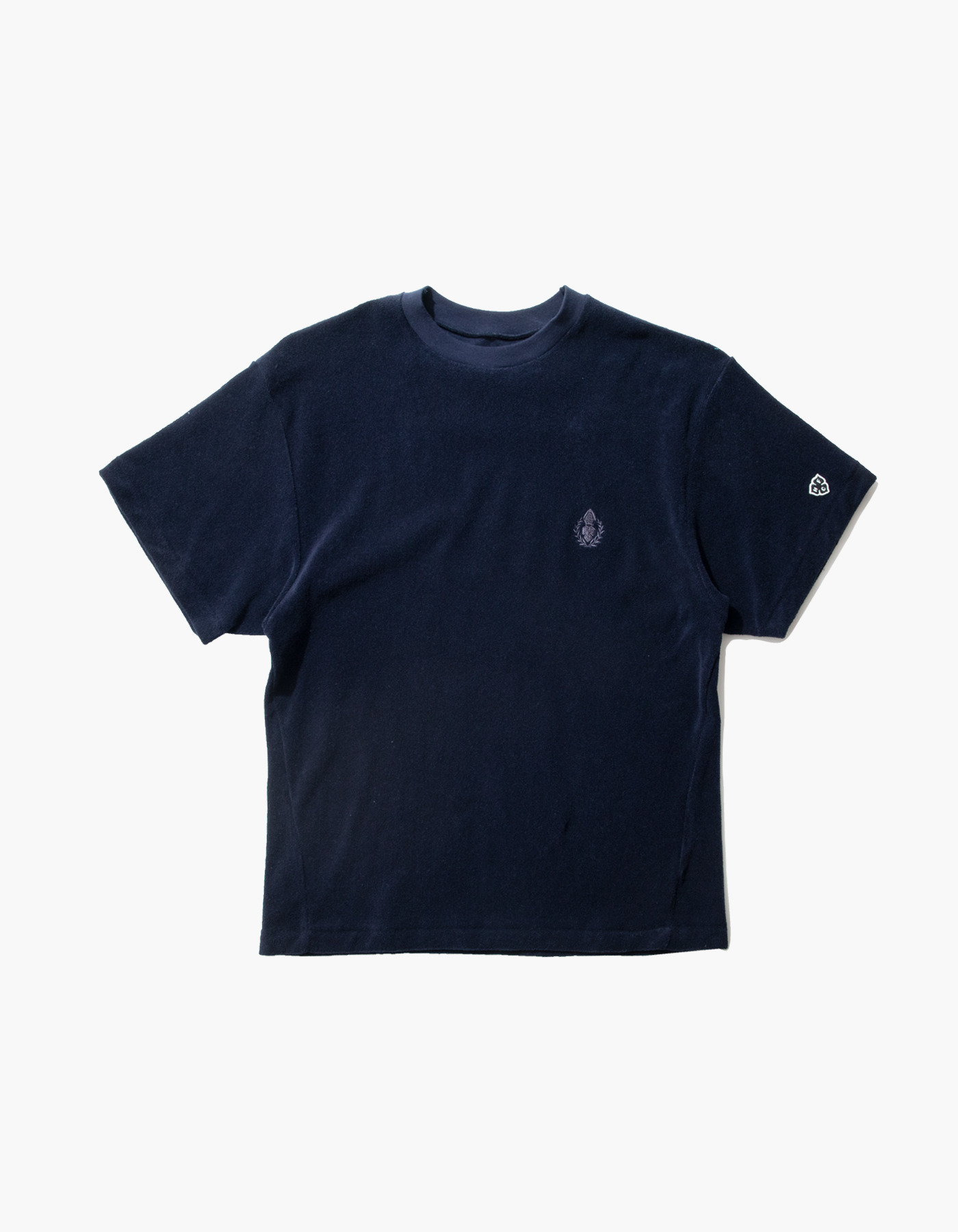HFC CREST TOWEL T-SHIRTS / NAVY