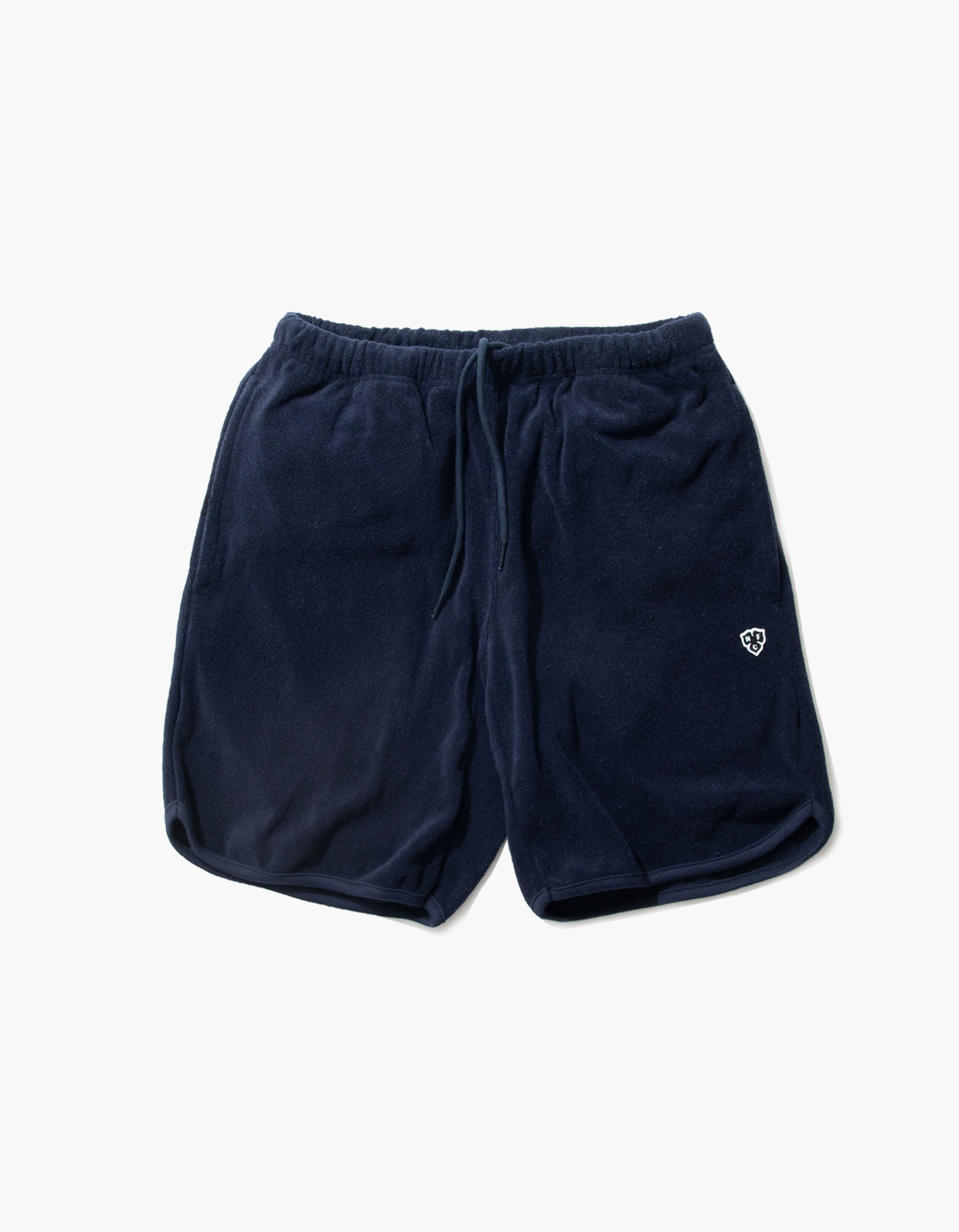 HFC CREST TOWEL SHORTS / NAVY