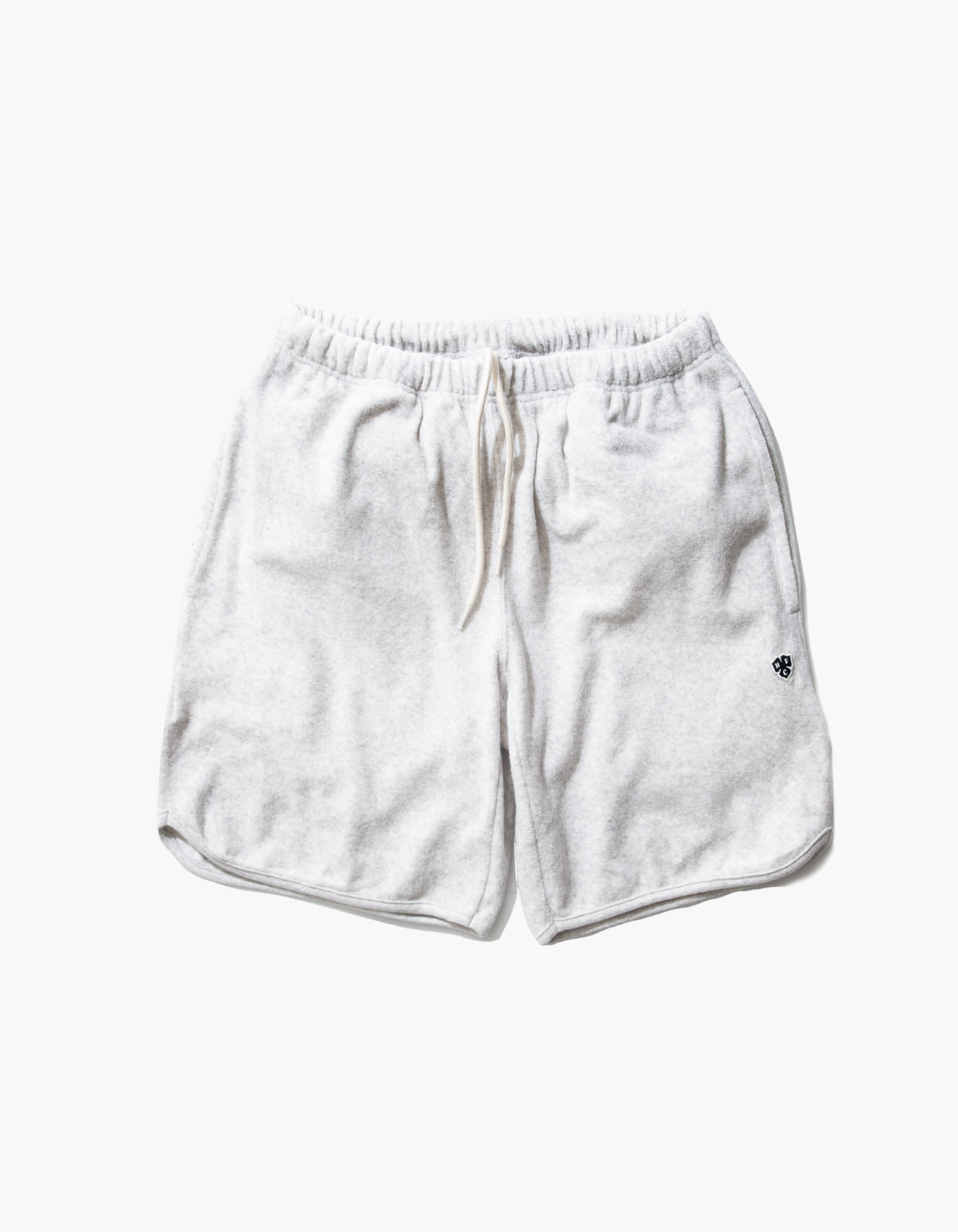 HFC CREST TOWEL SHORTS / M.GREY(1%)