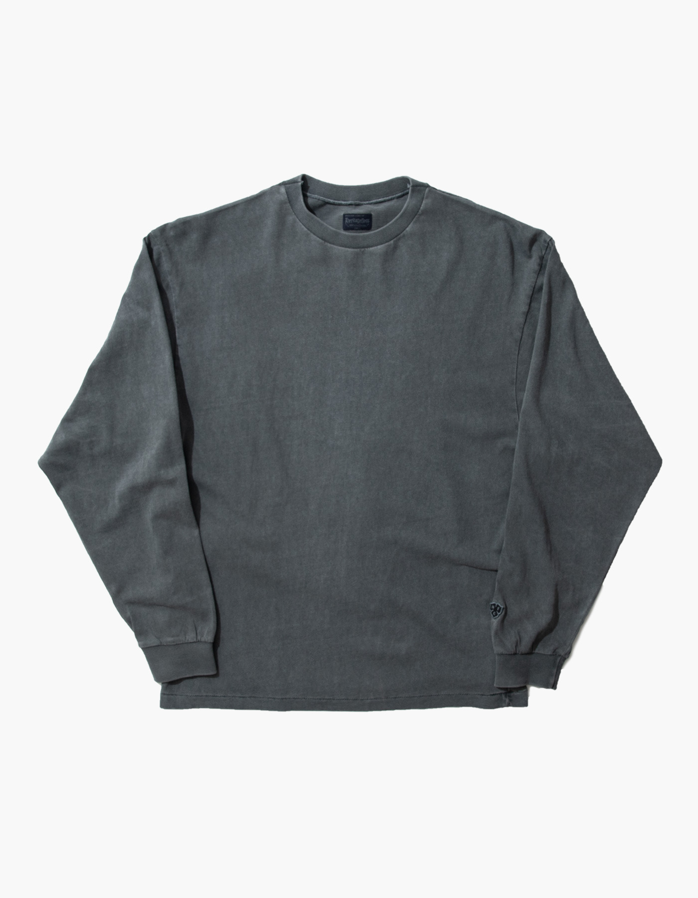 ACS COMPACT YARN LONG SLEEVE / CHARCOAL