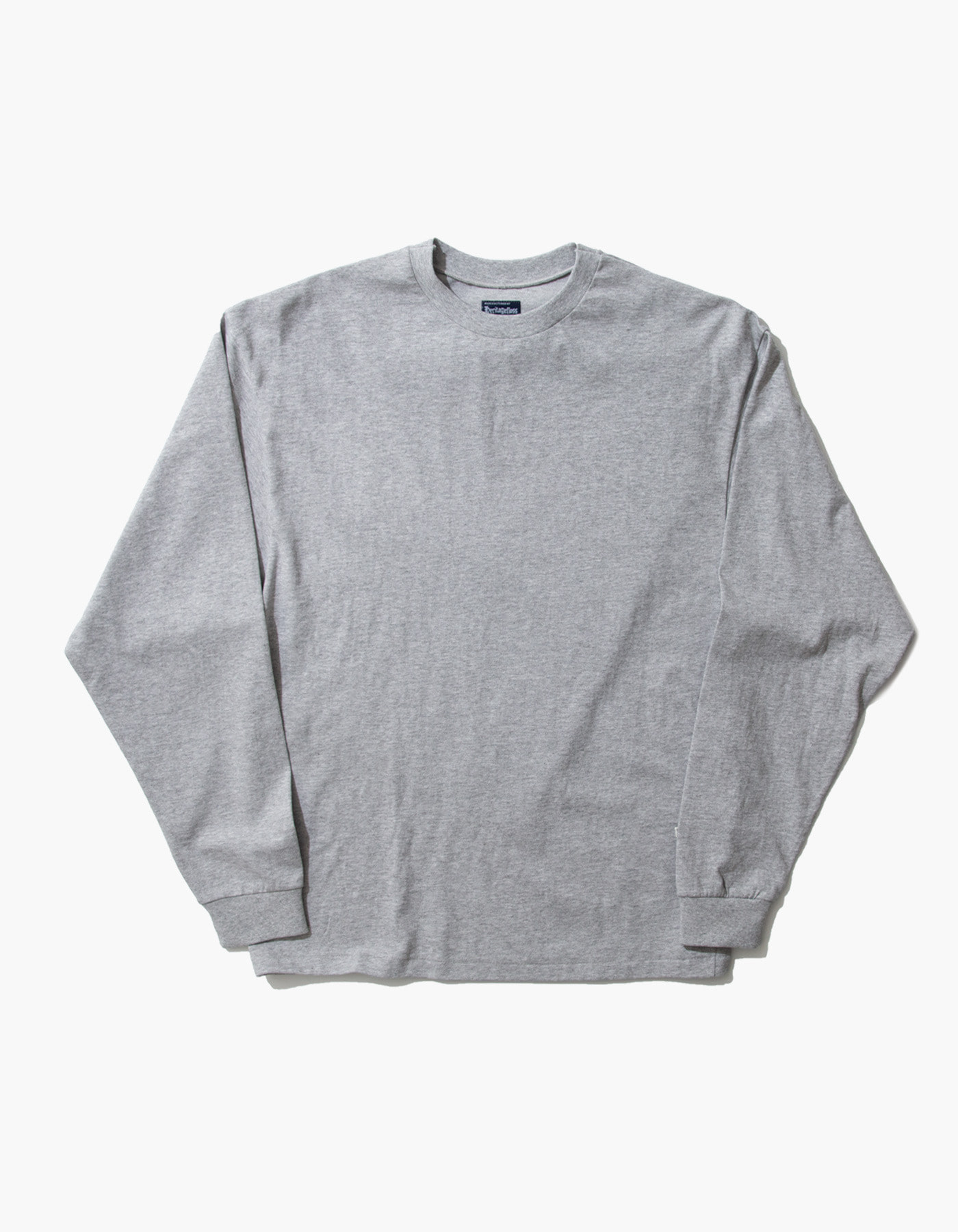 ACS COMPACT YARN LONG SLEEVE / M.GREY(5%)