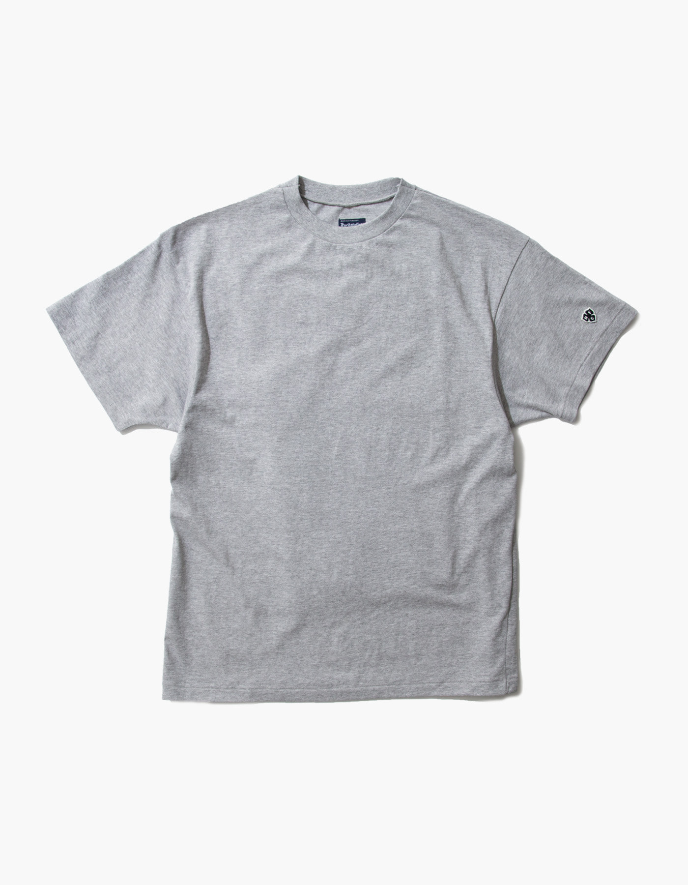 ACS COMPACT YARN T-SHIRTS / M.GREY(5%)