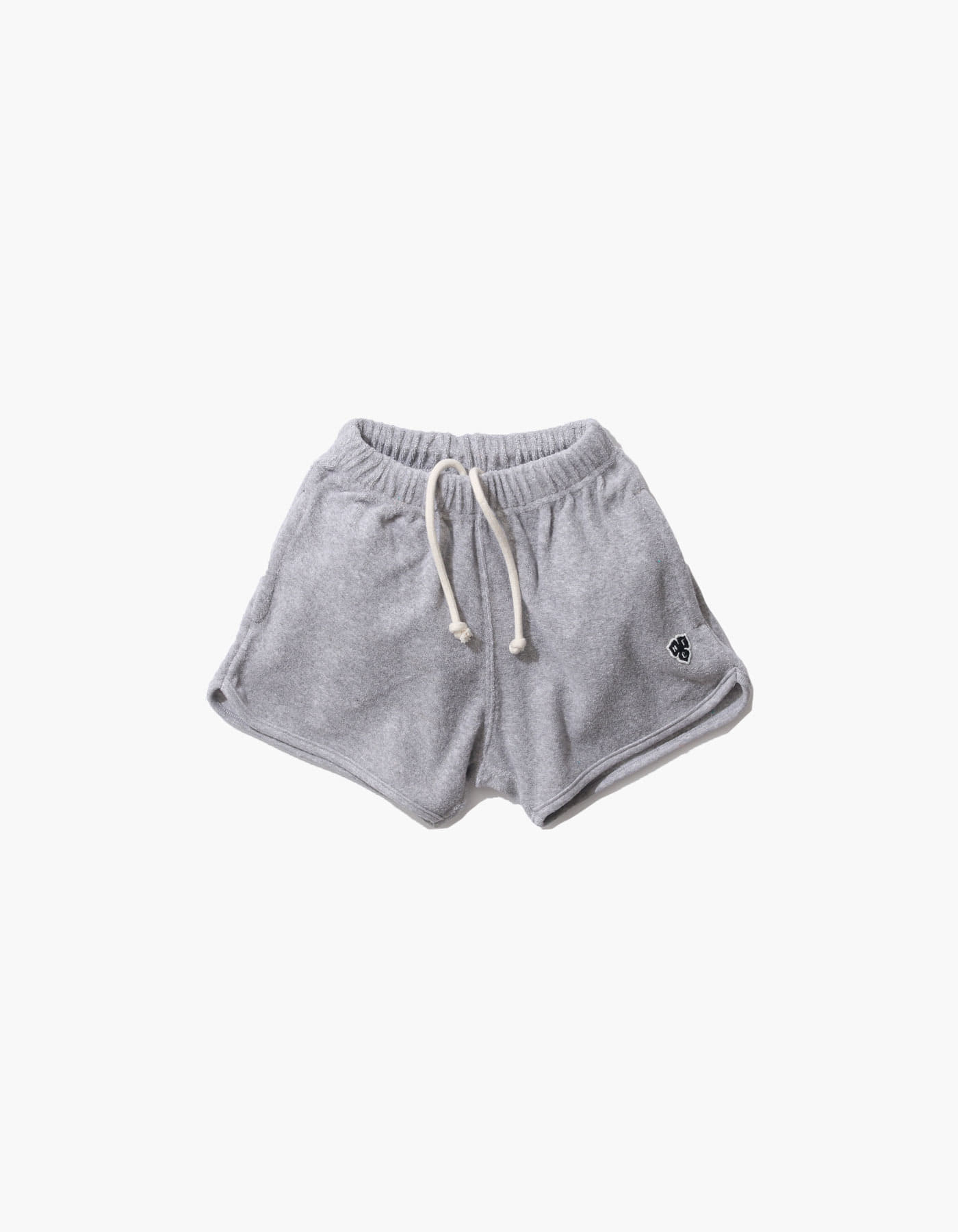 HFC CREST KIDS TOWEL SHORTS / M.GREY(5%)