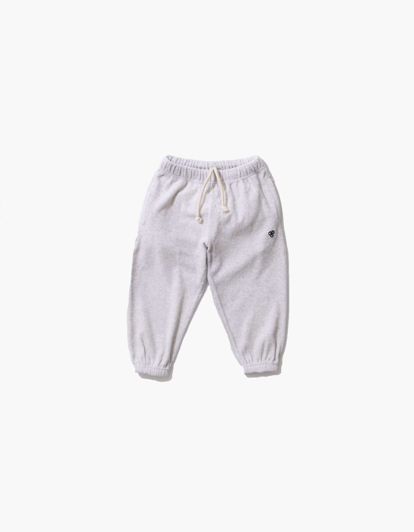 HFC CREST KIDS TOWEL JOGGER PANTS / M.GREY(1%)