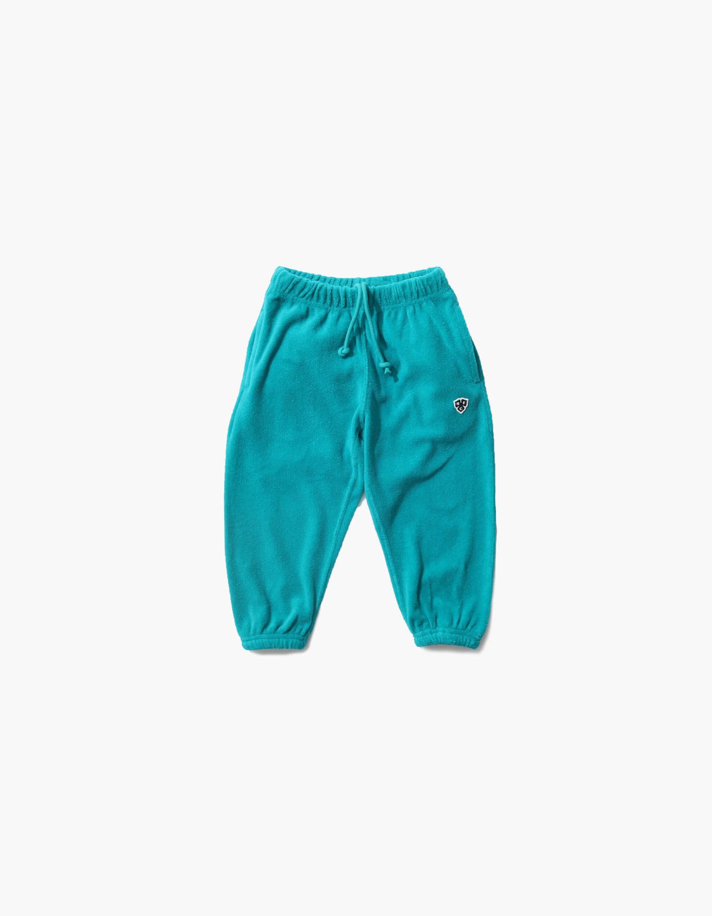 HFC CREST KIDS TOWEL JOGGER PANTS / BLUE GREEN