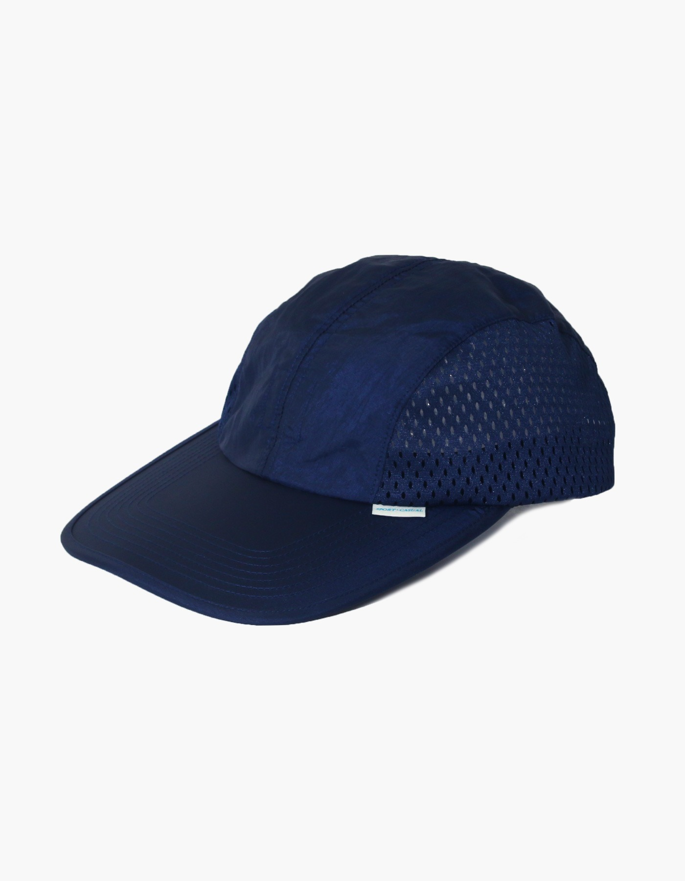 NYLON DIAMOND WASHER MESH CAP / NAVY