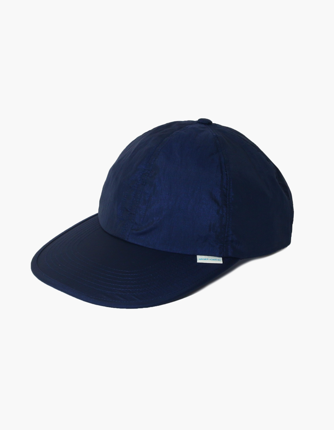 NYLON DIAMOND WASHER 6 PANEL CAP / NAVY