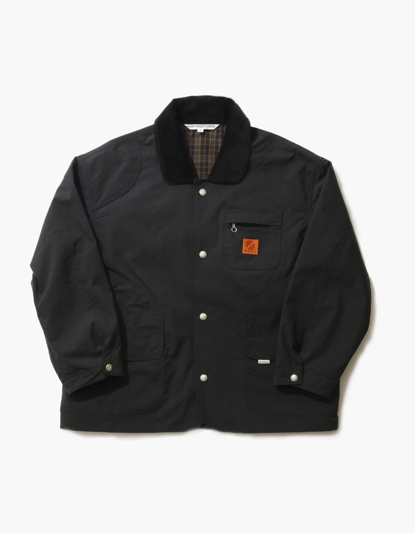 NYLON HUNTING JACKET / BLACK