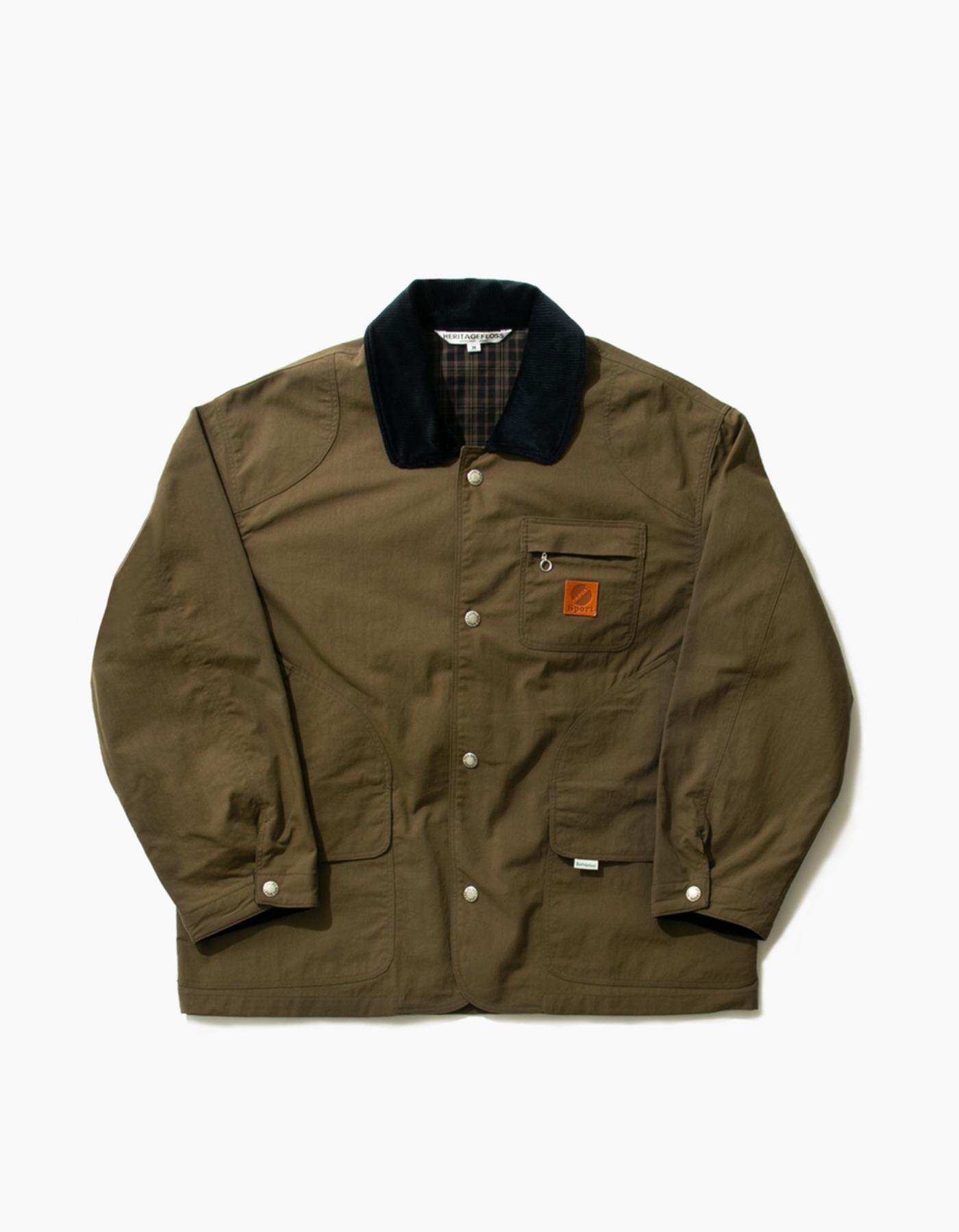 NYLON HUNTING JACKET / DESERT KHAKI