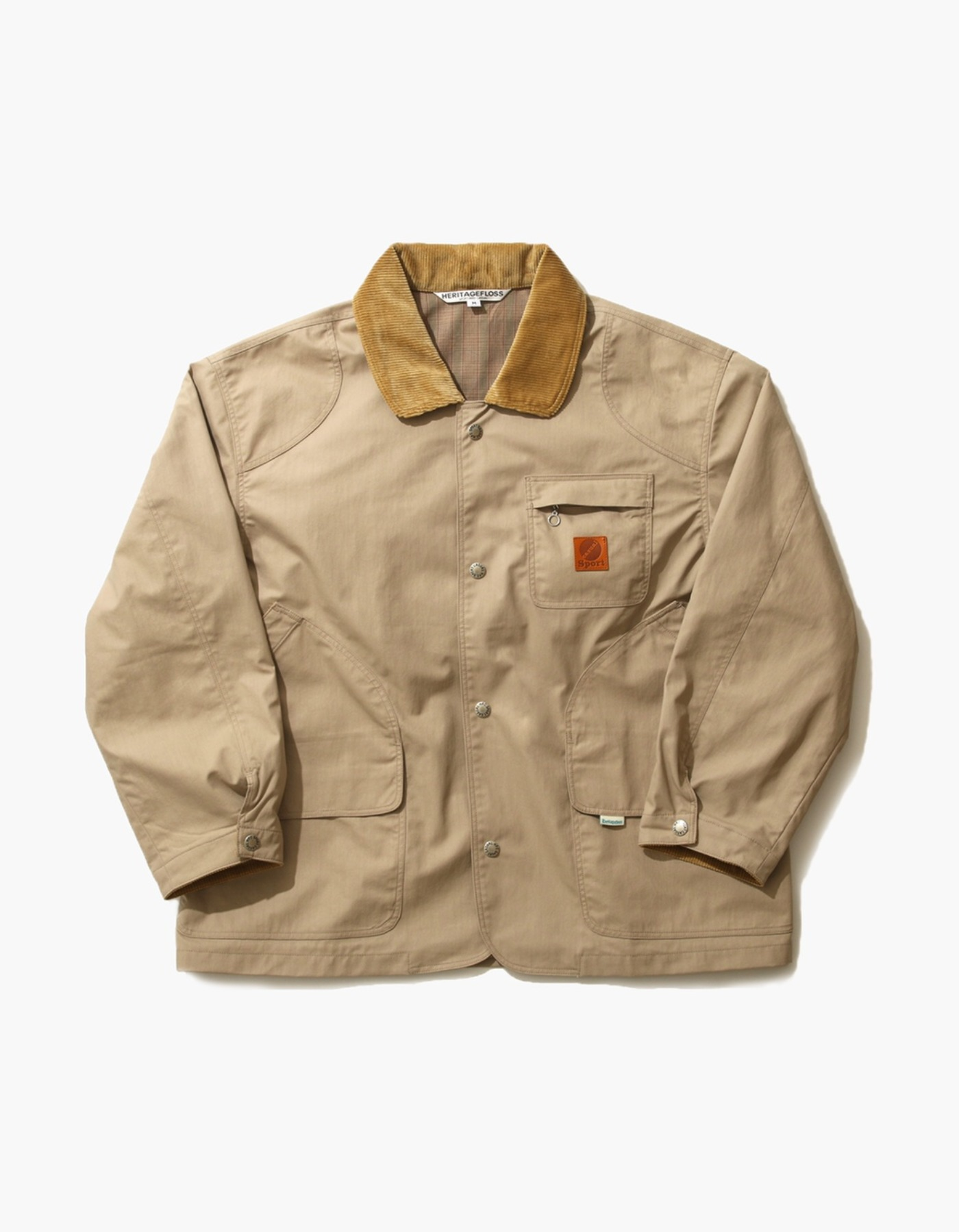 NYLON HUNTING JACKET / BEIGE