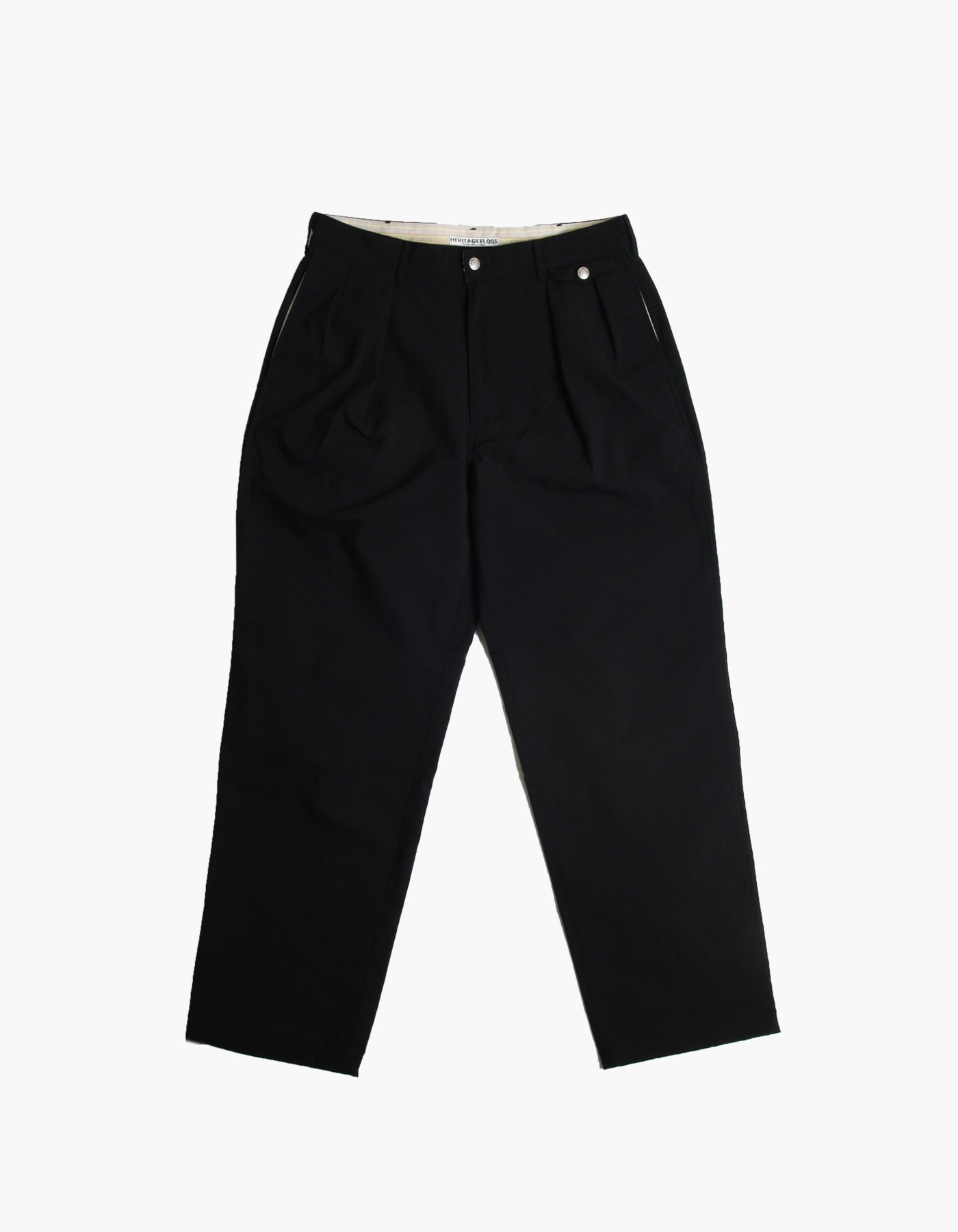 QUICK-DRYING NYLON CHINO PANTS / BLACK