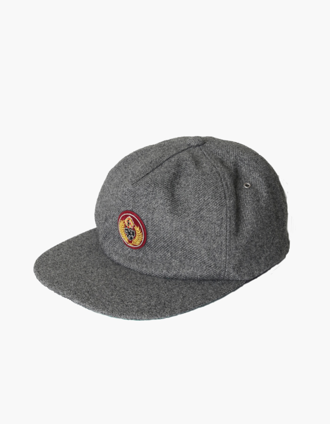 HFC CREST FAUX WOOL CAP / GREY