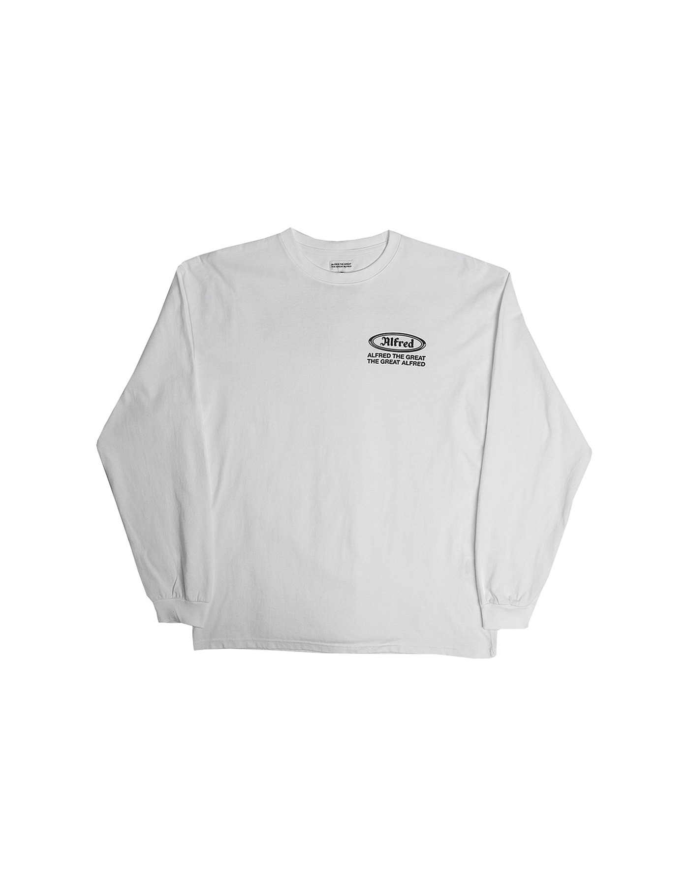 FRED OG LONG SLEEVE / WHITE