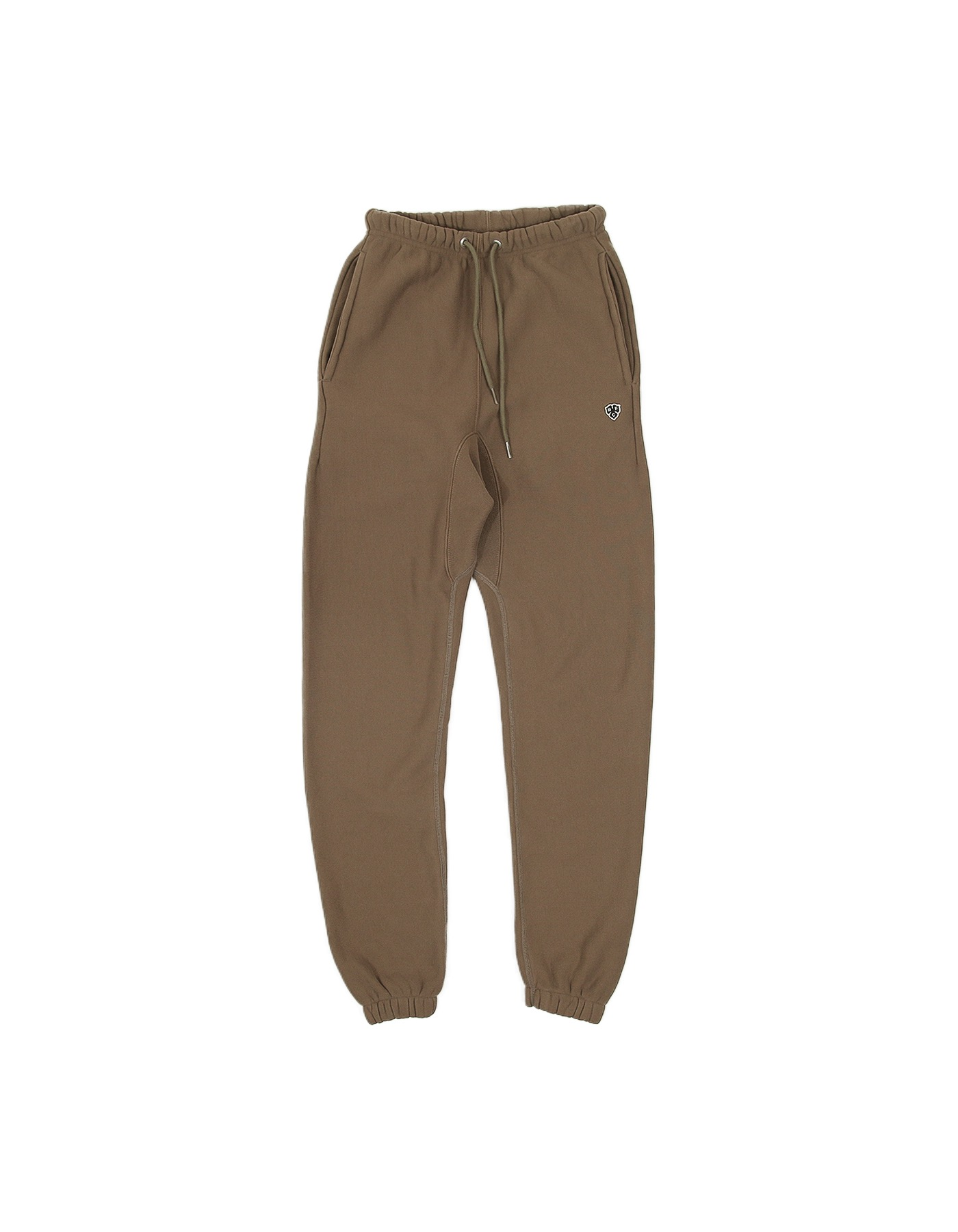 334 REVERSE FLEECE SWEATPANTS (SLIM-FIT) / DESERT KHAKI