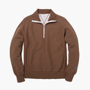331 HALF ZIP M.BROWN