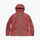 CHECKED SHIELD JACKET RED