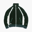 VELOUR TRACK JACKET GREEN