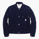 CORDUROY TRUCKER JACKET NAVY
