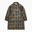ENGLISH CHECKED BALMACAAN COAT / GREEN