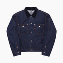 SELVEDGE TRUCKER JACKET / INDIGO-NAVY
