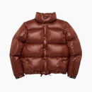 LIGHT PUFFY GOOSE DOWN JACKET / BROWN