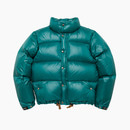 LIGHT PUFFY GOOSE DOWN JACKET / GREEN