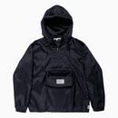 NYLON AURORA WASHER ANORAK / BLACK