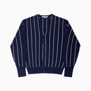 HFC STRIPE CARDIGAN / NAVY
