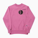 HFC X 6SECTORS 231 REVERSE CREW NECK / PINK