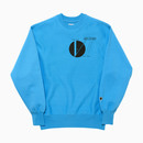 HFC X 6SECTORS 231 REVERSE CREW NECK / SKY BLUE