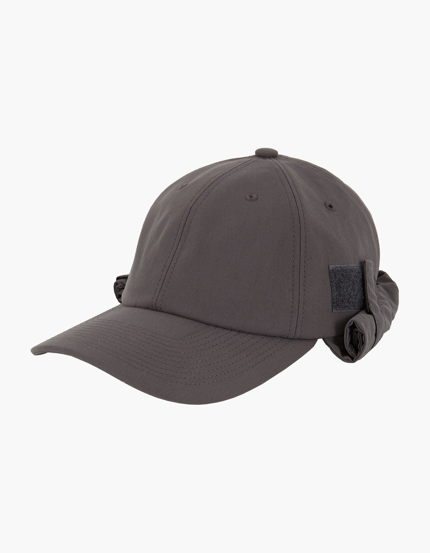 6 PANEL FLY FISHING CAP / CHARCOAL