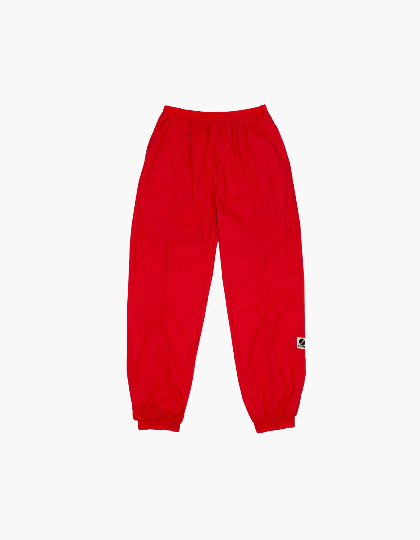 NYLON DIAMOND WASHER PANTS / RED