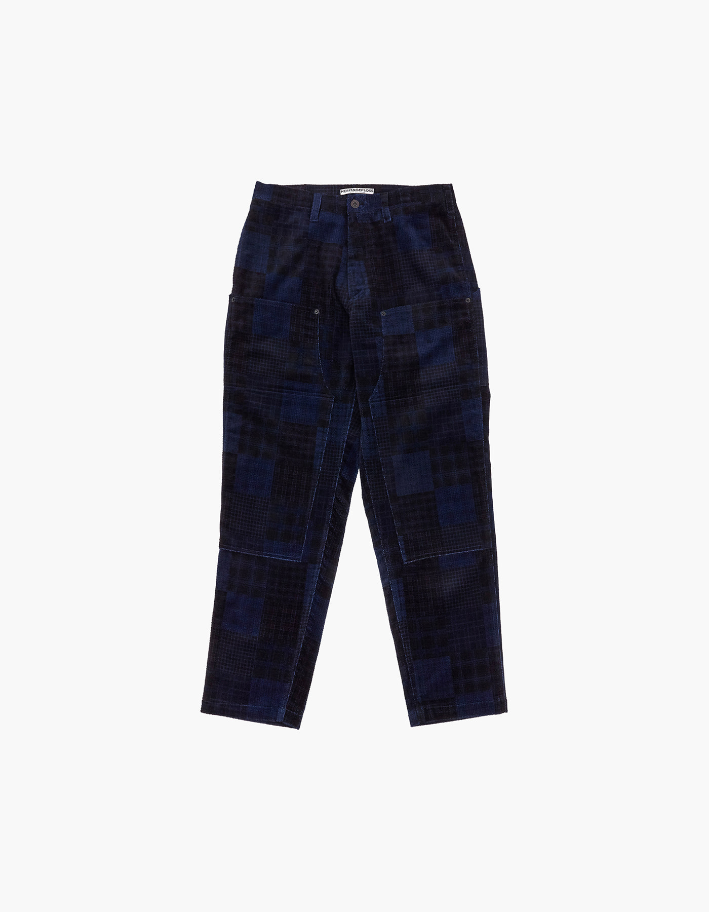 CORDUROY WORK PANTS / BLUE