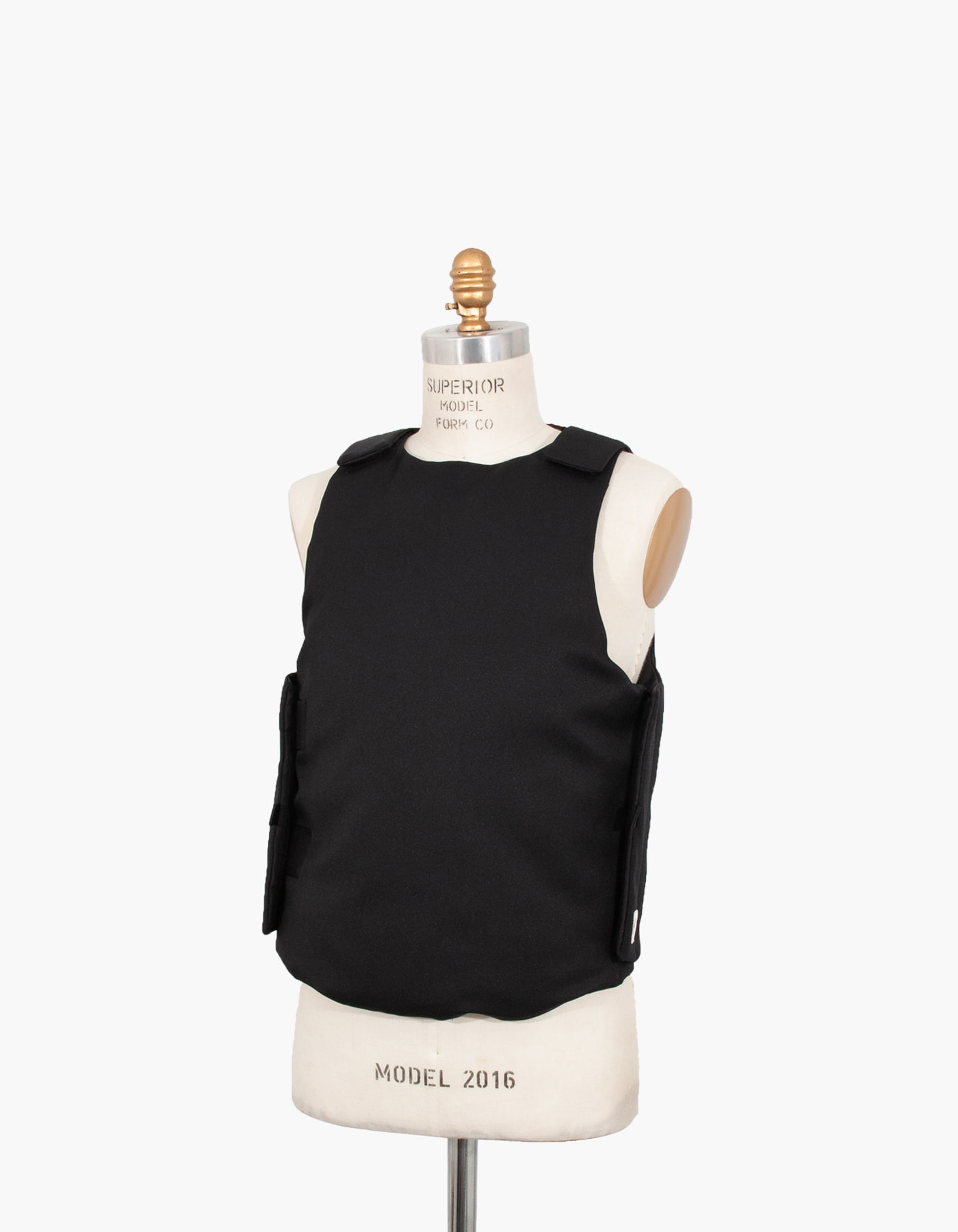 851 GOOSE DOWN ARMOR VEST / BLACK