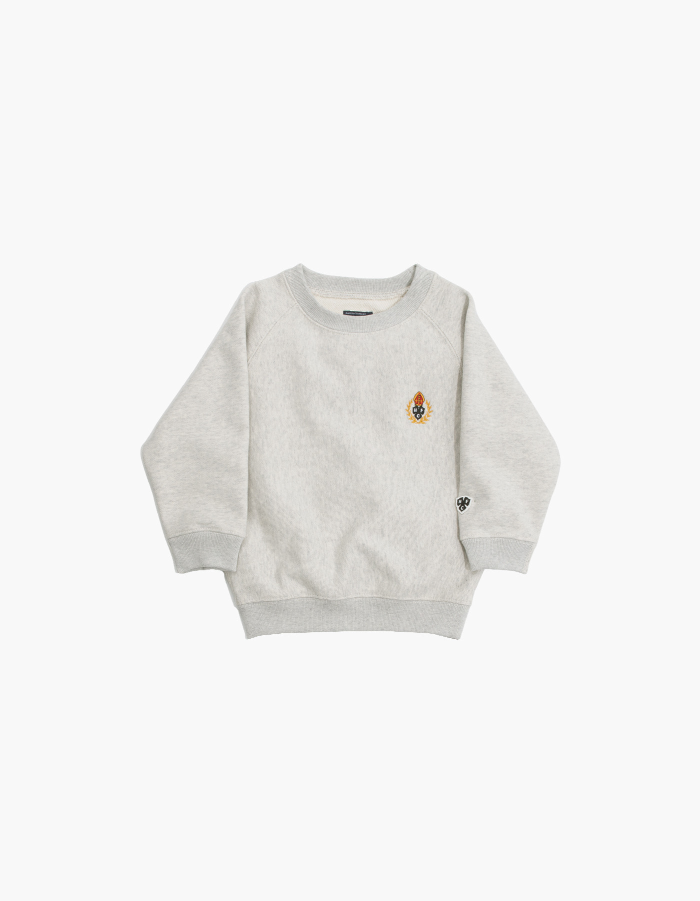 231 KIDS HFC CREWNECK / M.GREY (1%)