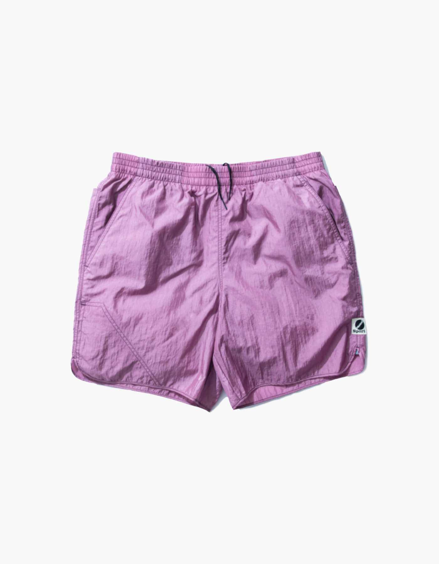 NYLON DIAMOND WASHER SHORTS II / LAVENDER