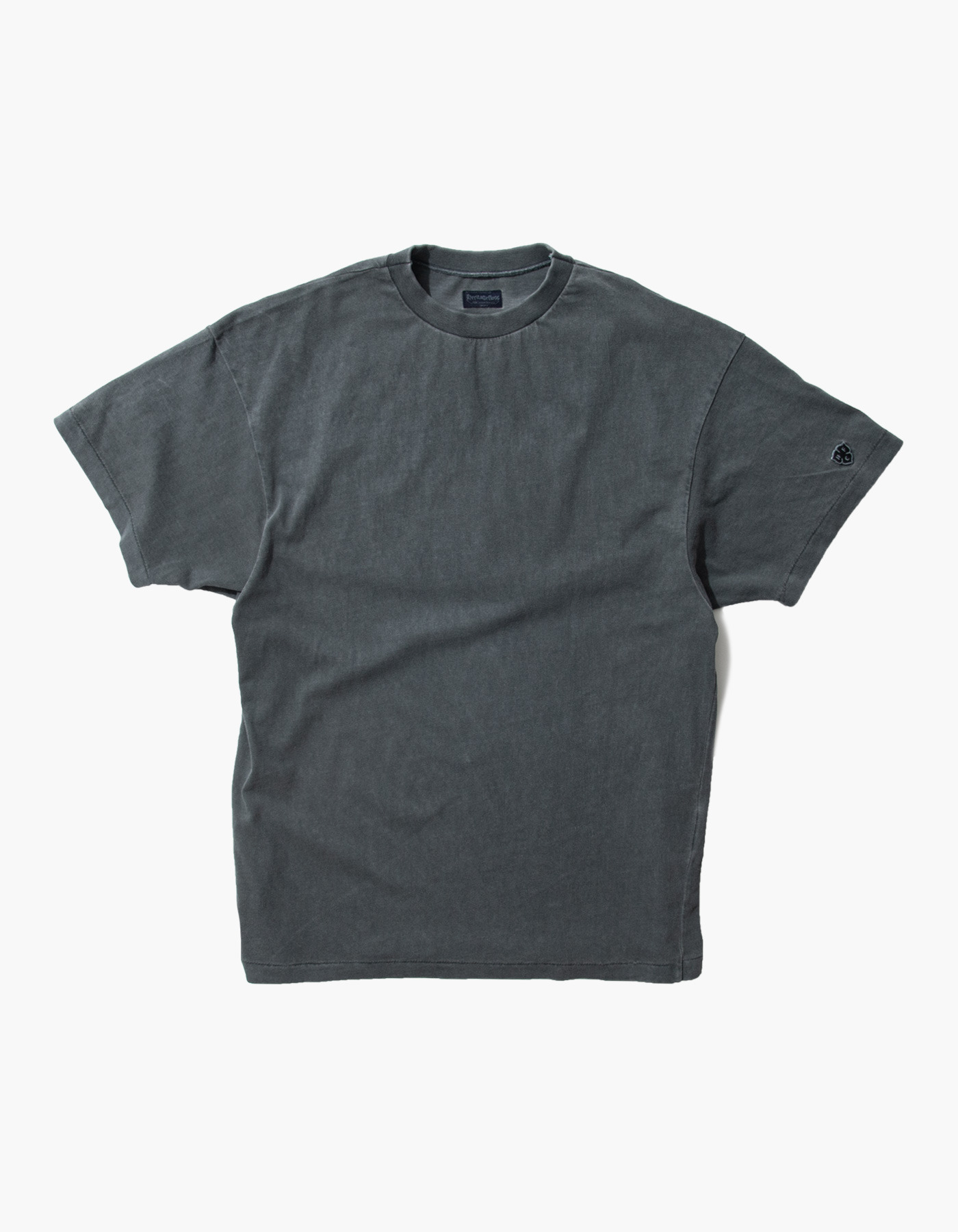 ACS COMPACT YARN T-SHIRTS / CHARCOAL