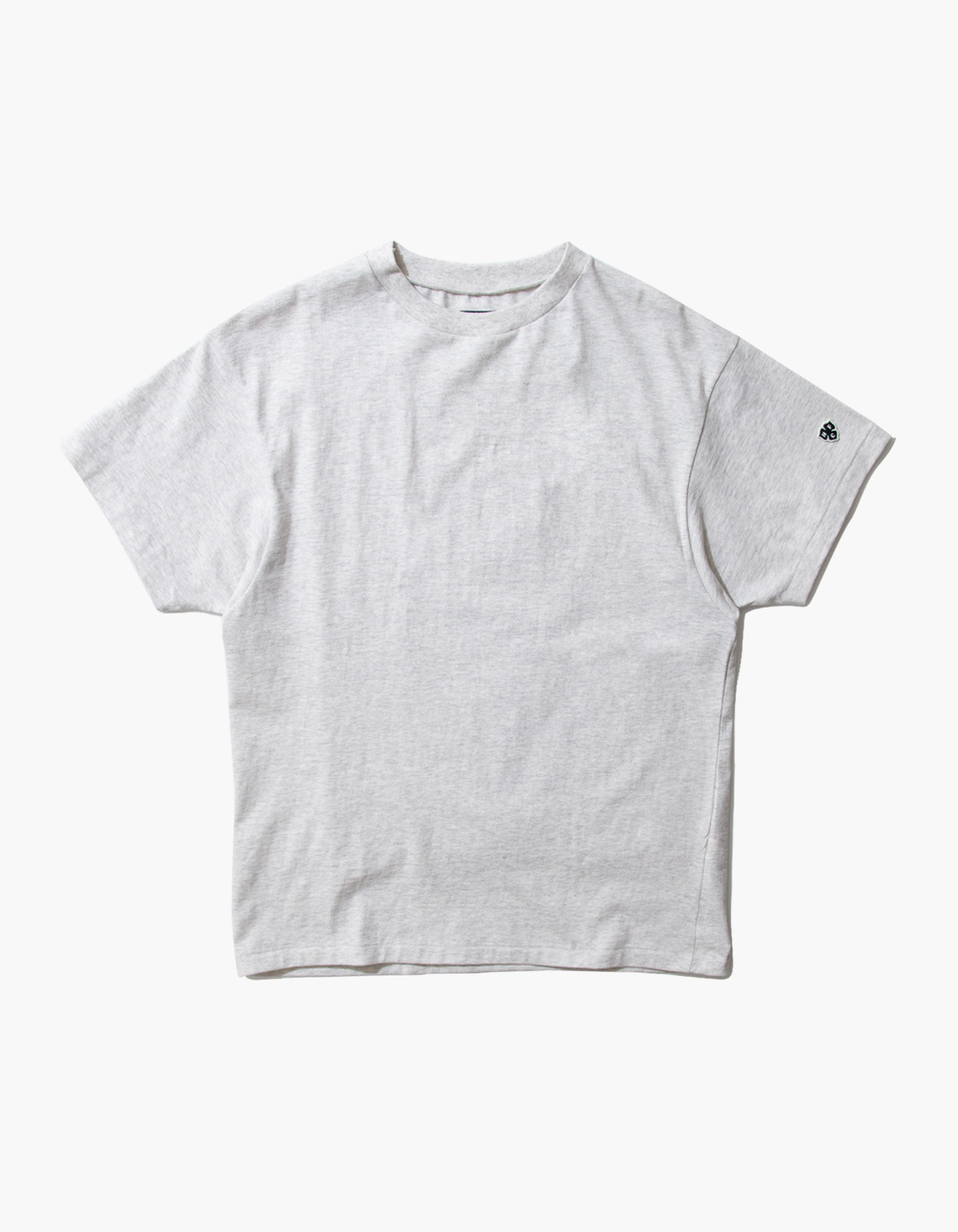 ACS COMPACT YARN T-SHIRTS / M.GREY(1%)
