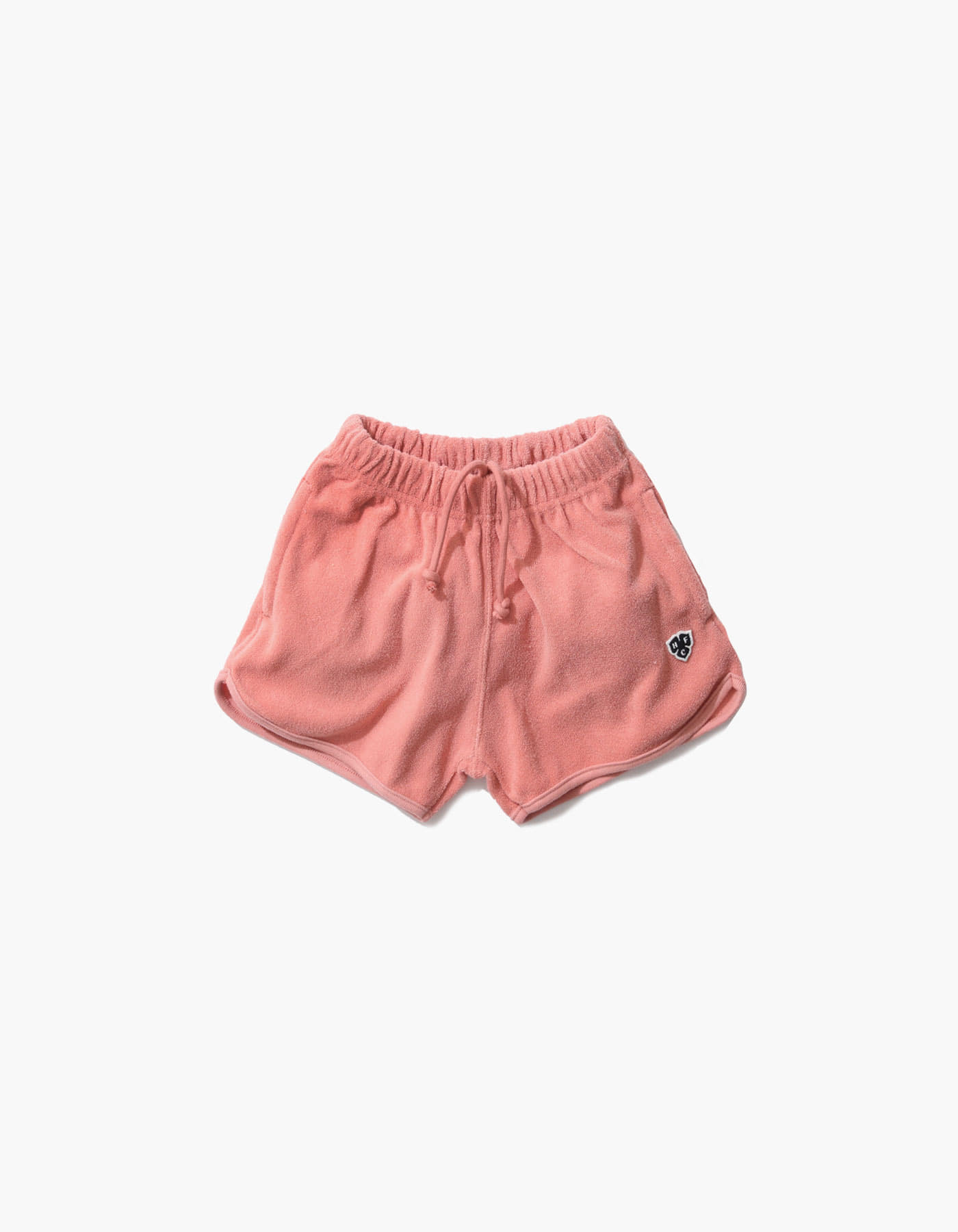 HFC CREST KIDS TOWEL SHORTS / MAROON